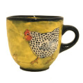Large Cup with Chickens on Buttercup
