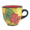 Large Cup with Nastruims on Buttercup